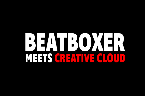 Beatboxer Meets Creative Cloud logo
